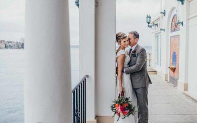 Steve & Tiina Wedding | Wedding Photographer | Manly Skiff Club, Sydney