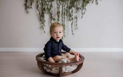 Matthew Turns ONE | 12 Month Milestone Studio Photographer | Ingleburn, Sydney